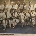 New Black Belts in the local Newspaper 2018