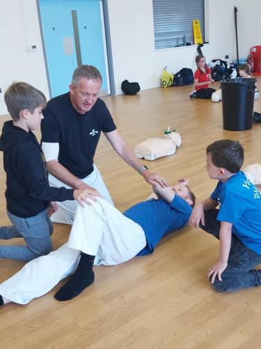 Dal Poon Members undertaking First Aid training and qualification