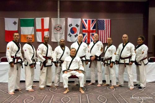 Master Belts including our IMA Grandmaster and Master Young in Malta 2019