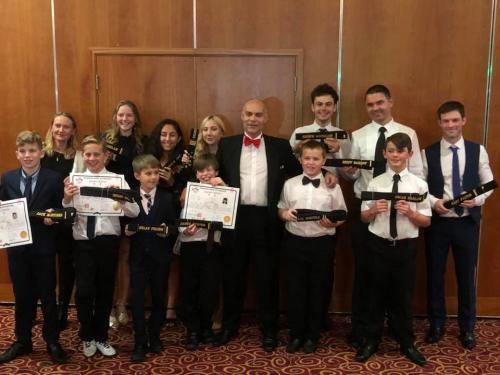 New Black Belts with Master Young in 2017