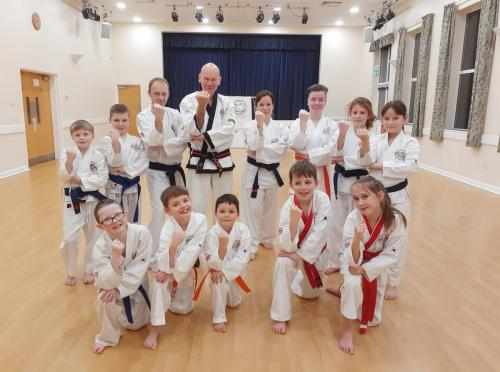 Wilstead Tang Soo Do lead by Master Campbell